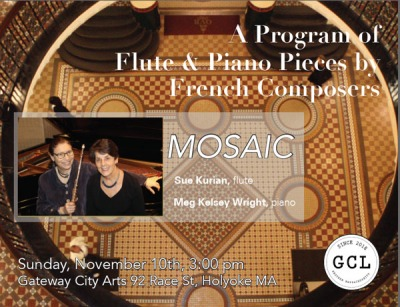 Concerts on the Canal presents Mosaic